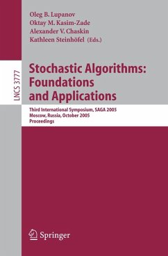 Stochastic Algorithms: Foundations and Applications (eBook, PDF)