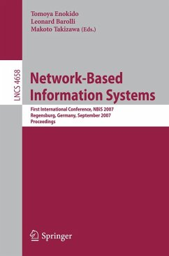 Network-Based Information Systems (eBook, PDF)