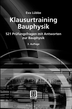 Klausurtraining Bauphysik (eBook, PDF)