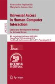 Universal Access in Human-Computer Interaction: Design and Development Methods for Universal Access (eBook, PDF)