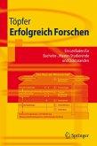 Erfolgreich Forschen (eBook, PDF)