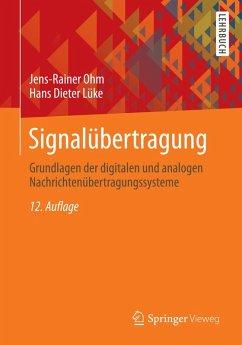 Signalübertragung (eBook, PDF) - Ohm, Jens-Rainer; Lüke, Hans Dieter