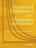 Elements of Mathematics for Economics and Finance (eBook, PDF)