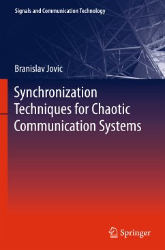 Synchronization Techniques for Chaotic Communication Systems (eBook, PDF) - Jovic, Branislav