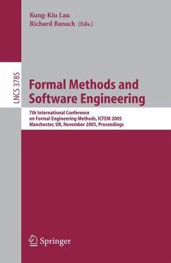 Formal Methods and Software Engineering (eBook, PDF)