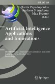 Artificial Intelligence Applications and Innovations (eBook, PDF)