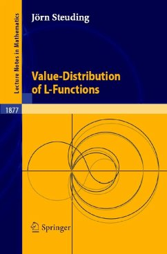 Value-Distribution of L-Functions (eBook, PDF) - Steuding, Jörn