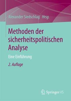 Methoden der sicherheitspolitischen Analyse (eBook, PDF)