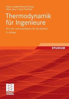 Thermodynamik für Ingenieure (eBook, PDF)