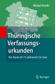 Thüringische Verfassungsurkunden (eBook, PDF)