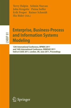 Enterprise, Business-Process and Information Systems Modeling (eBook, PDF)