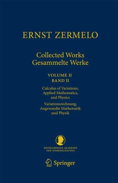 Ernst Zermelo - Collected Works/Gesammelte Werke II (eBook, PDF) - Zermelo, Ernst
