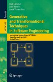 Generative and Transformational Techniques in Software Engineering (eBook, PDF)