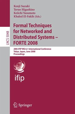 Formal Techniques for Networked and Distributed Systems - FORTE 2008 (eBook, PDF)