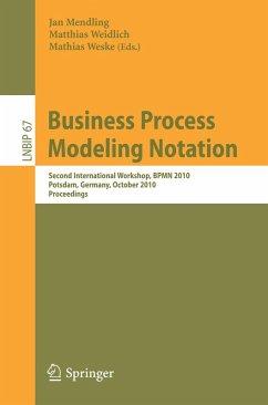 Business Process Modeling Notation (eBook, PDF)