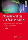 Vom Referat bis zur Examensarbeit (eBook, PDF)