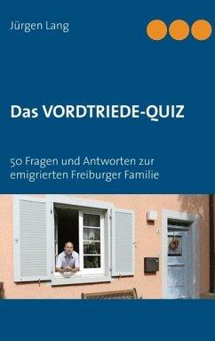 Das Vordtriede-Quiz (eBook, ePUB)