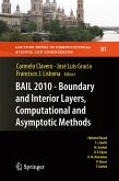 BAIL 2010 - Boundary and Interior Layers, Computational and Asymptotic Methods (eBook, PDF)