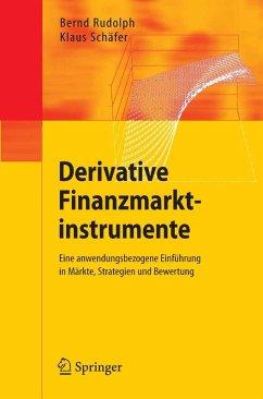Derivative Finanzmarktinstrumente (eBook, PDF) - Rudolph, Bernd; Schäfer, Klaus