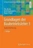 Grundlagen der Baubetriebslehre 3 (eBook, PDF)