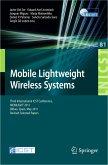 Mobile Lightweight Wireless Systems (eBook, PDF)