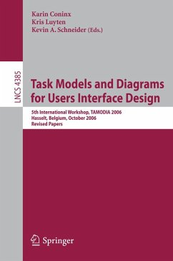 Task Models and Diagrams for Users Interface Design (eBook, PDF)