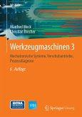 Werkzeugmaschinen 3 (eBook, PDF)