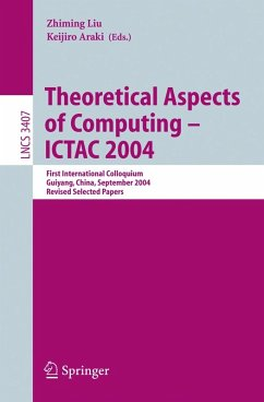 Theoretical Aspects of Computing - ICTAC 2004 (eBook, PDF)