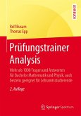 Prüfungstrainer Analysis (eBook, PDF)