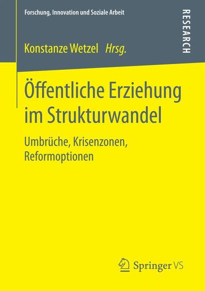 Öffentliche Erziehung im Strukturwandel (eBook, PDF)