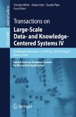 Transactions on Large-Scale Data- and Knowledge-Centered Systems IV (eBook, PDF)