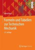 Formeln und Tabellen zur Technischen Mechanik (eBook, PDF)