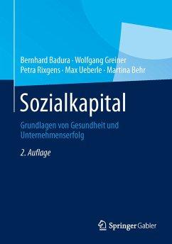 Sozialkapital (eBook, PDF) - Badura, Bernhard; Greiner, Wolfgang; Rixgens, Petra; Ueberle, Max; Behr, Martina
