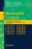 Reasoning Web. Semantic Technologies for Information Systems (eBook, PDF)
