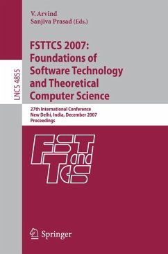 FSTTCS 2007: Foundations of Software Technology and Theoretical Computer Science (eBook, PDF)
