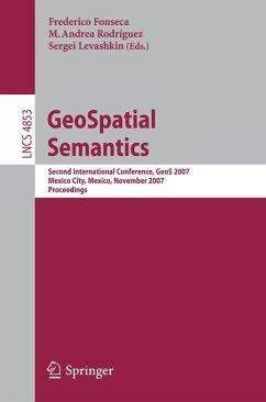 GeoSpatial Semantics (eBook, PDF)