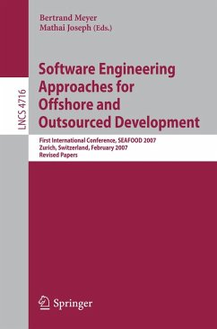 Software Engineering Approaches for Offshore and Outsourced Development (eBook, PDF)