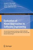 Evaluation of Novel Approaches to Software Engineering (eBook, PDF)