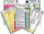 Beatmungs-Karten-Set - classic 2016 (5er-Set) - Medizinische Taschen-Karte