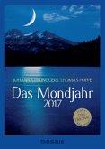 Das Mondjahr, Taschenkalender (schwarz-weiss) 2017