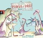 Minus Drei Box (Band 1-3), 3 Audio-CDs