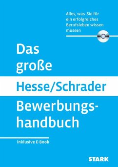 Das große Hesse/Schrader Bewerbungshandbuch + e...