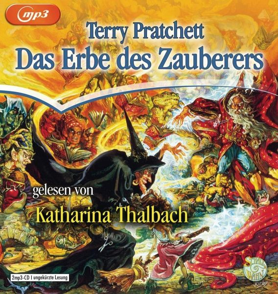 Das Erbe des Zauberers, 2 MP3-CDs - Pratchett, Terry