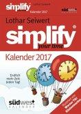 Simplify your Time 2017 Textabreißkalender