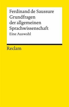 Grundfragen der allgemeinen Sprachwissenschaft - Saussure, Ferdinand de
