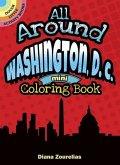 All Around Washington, D.C. Mini Coloring Book