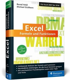 Excel - Formeln und Funktionen - Held, Bernd; Eichhorn, Michael