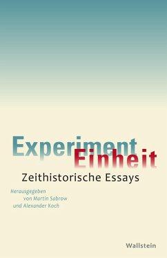 Experiment Einheit (eBook, PDF)