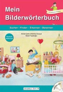 Mein Bilderwörterbuch, Deutsch - Italienisch, m...