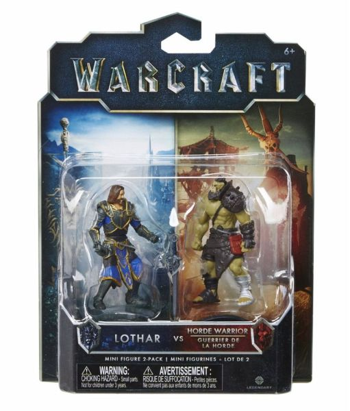 Warcraft - 2er Figuren-Set 1